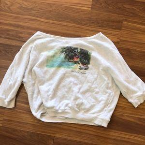 Billabong sweatshirt material sweater